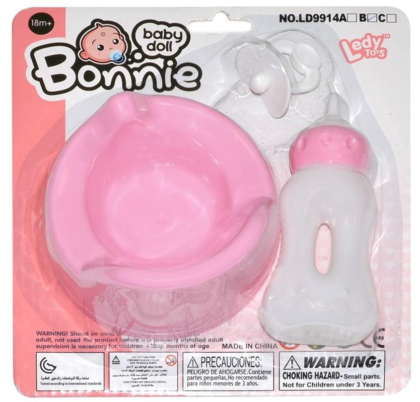 WIKY - Nočník pre bábiky s doplnkami 10cm