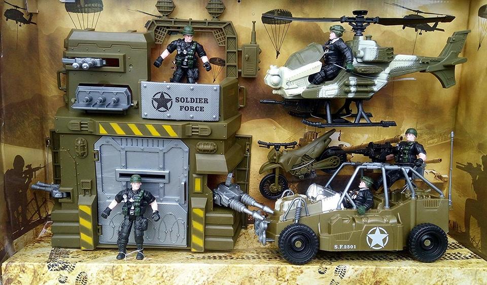 WIKY - Operácia Storm Wind - Combat Force 9