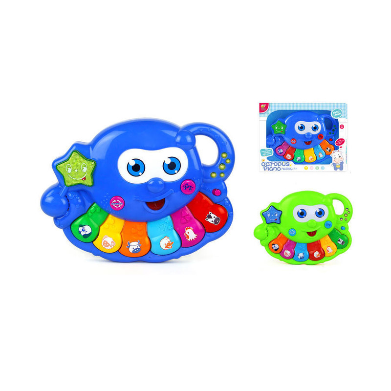 WIKY - Piano chobotnica - modrá