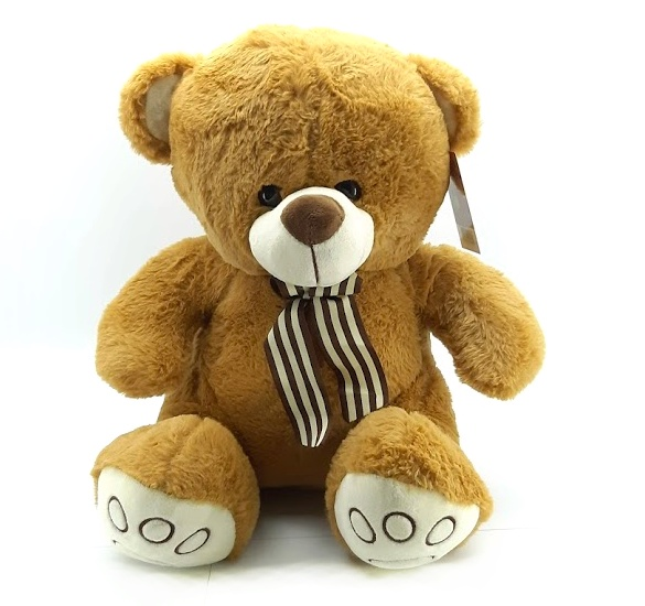 WIKY - Plyšový medveď hnedý 40cm