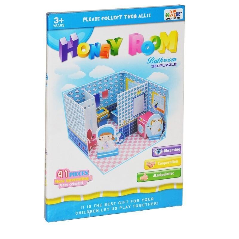 WIKY - Puzzle 3D Kúpeľňa