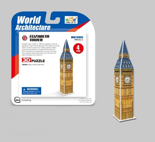 WIKY - Puzzle 3D Mini Big Ben