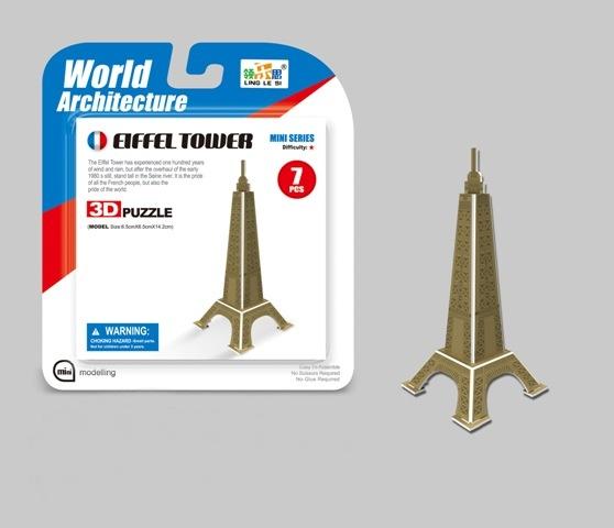 WIKY - Puzzle 3D Mini Eiffelovka