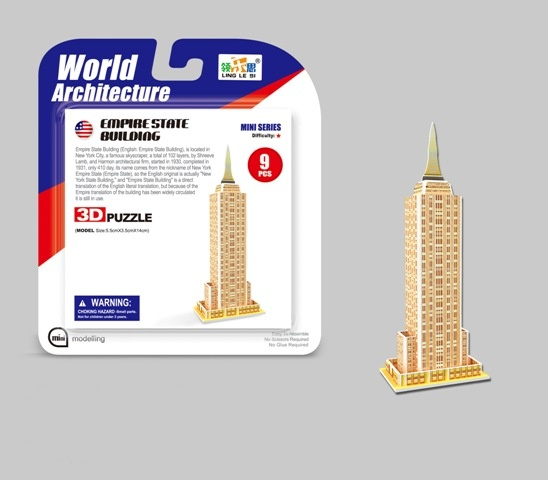 WIKY - Puzzle 3D Mini Empire State Building