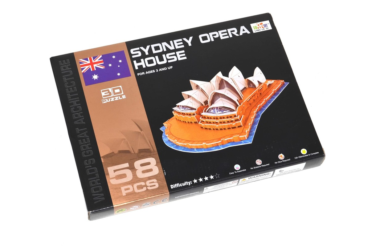WIKY - Puzzle 3D - Opera v Sydney