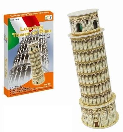 WIKY - Puzzle 3D Šikmá veža v Pise