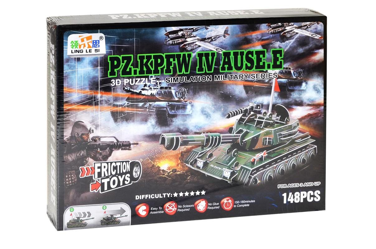 WIKY - Puzzle 3D Tank PZ.KPFW IV.