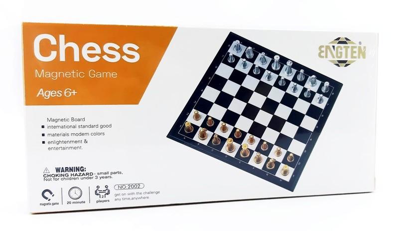 WIKY - Šachy magnetická hra 20x20cm