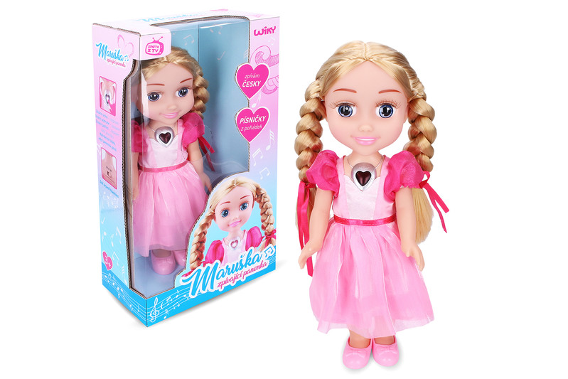WIKY - Spievajúci bábika Maruška