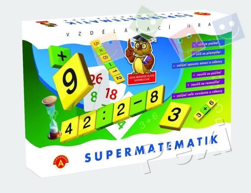 WIKY - Spoločenská hra - Super matematik