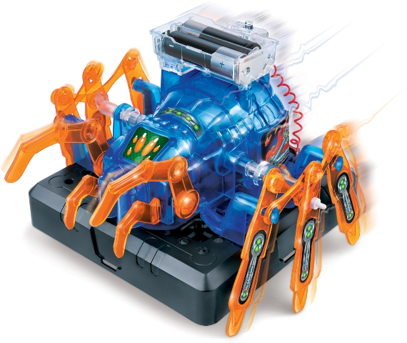 WIKY - Stavebnica Pavúk - na batérie