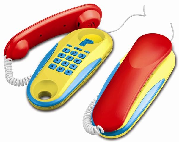 WIKY - Telefóny šnúrové na batérie