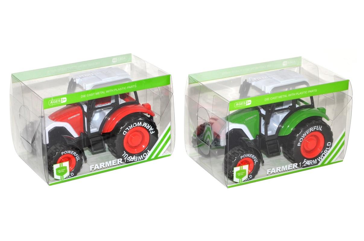 WIKY - Traktor kovový 13cm