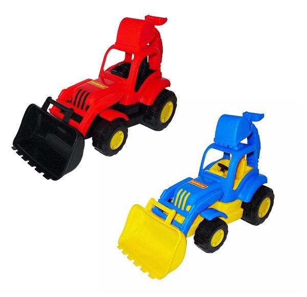 WIKY - Traktor s nakladačom 34cm - modrá