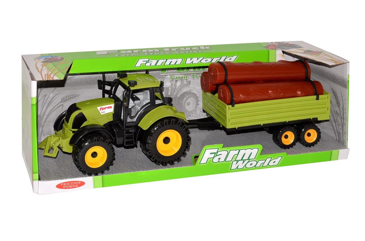 WIKY - Traktor s vlečkou