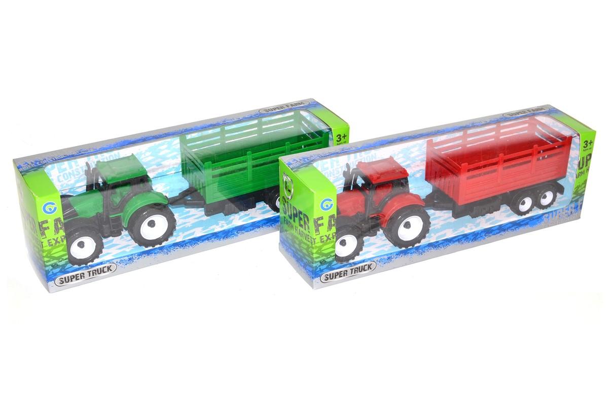 WIKY - Traktor s vlečkou 27cm