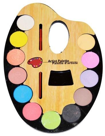 WIKY - Vodové farby paleta - 12 farieb