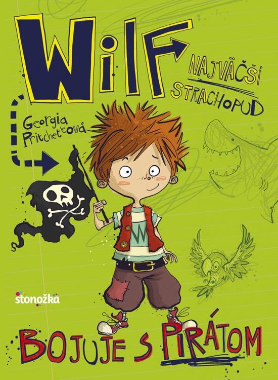 Wilf, najväčší strachopud: Bojuje s pirátom - Georgia Pritchettová