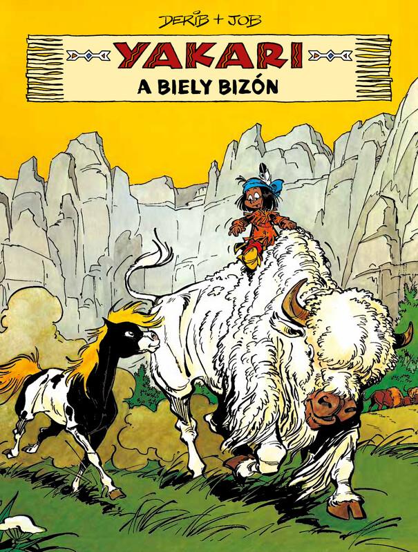 Yakari 2 - Yakari a Biely bizón - Derib, Job