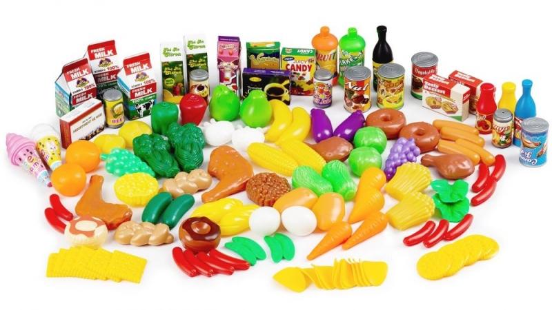 YAO CHANG - Plastová sada ovocia a zeleniny