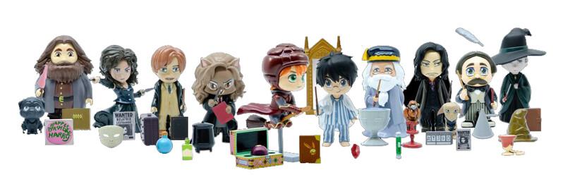 YUME - Harry Potter - Sberatelské Figúrky, Mix Produktov. Ii. Vlna