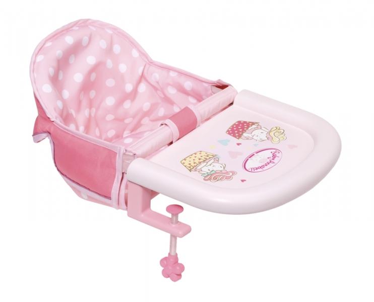 ZAPF - Baby Annabell Jedálenská stolička s uchytením na stôl