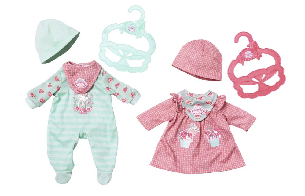 ZAPF - Baby Annabell Little, pohodlné oblečenie, 2 druhy, 36Cm