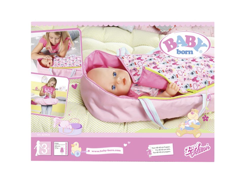 ZAPF - Baby Born 2V1 Prenosná Postielka
