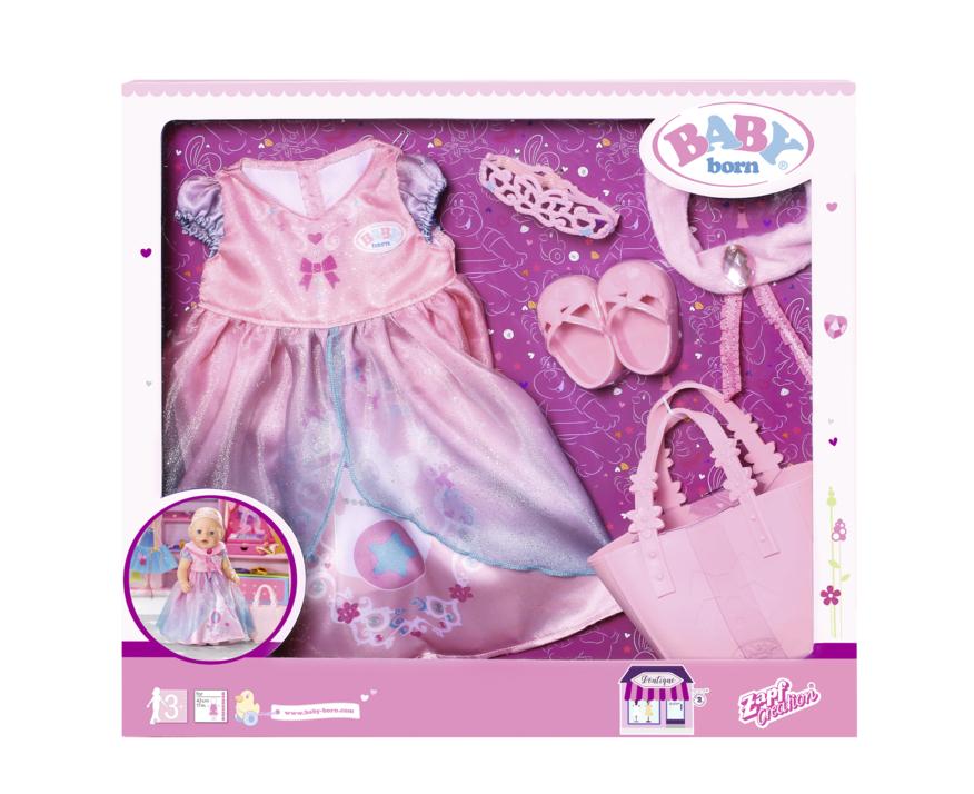 ZAPF - Baby Born Butik Deluxe súprava princezná