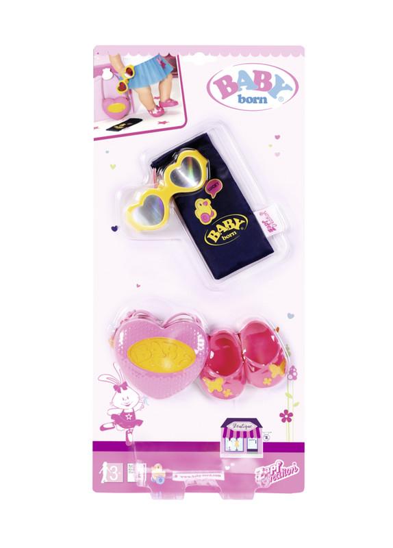 ZAPF - Baby Born butik sada kabelka, topánočky a doplnky