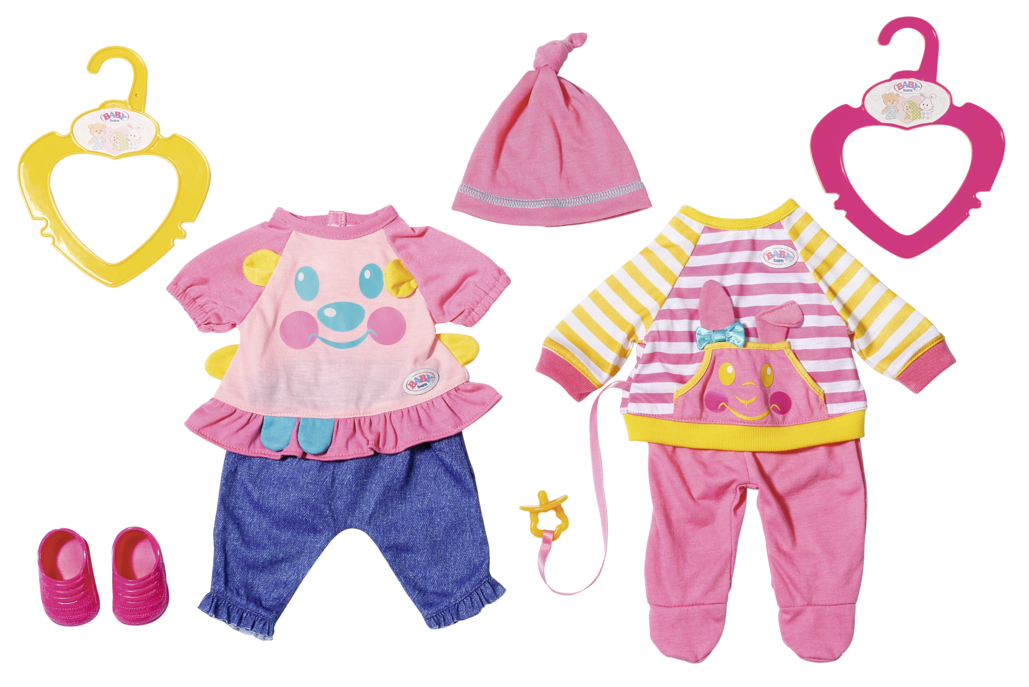 ZAPF - Baby Born Little Oblečenie Na Hranie, 2 Druhy, 36 Cm