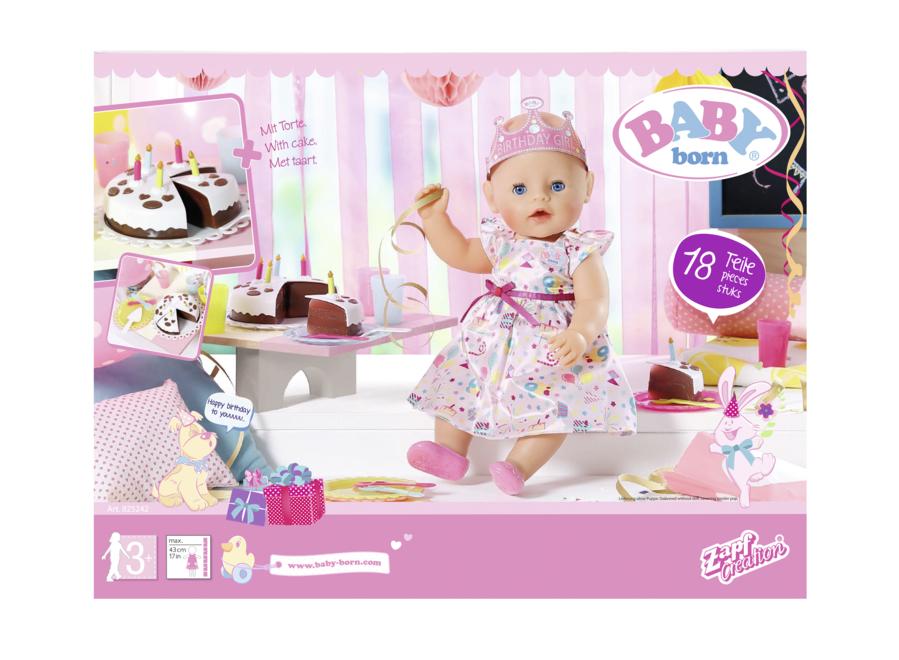 ZAPF - Baby Born narodeninová súprava, 43 Cm