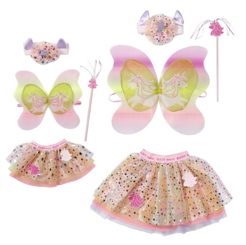 """ZAPF - BABY born Oblečenie """"Jednorožec"""" pre bábiku aj pre dievčatko"""