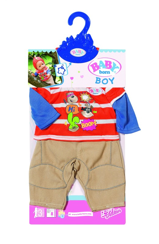 ZAPF - Baby Born Oblečenie na chlapčeka, 2 druhy