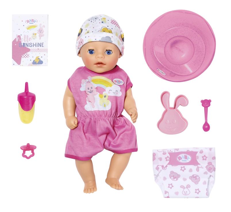 ZAPF - Baby Born Soft Touch Little Dievčatko, 36 Cm