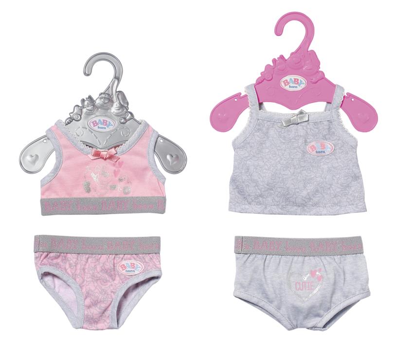ZAPF - Baby Born Spodná Bielizeň, 2 Druhy, 43 Cm
