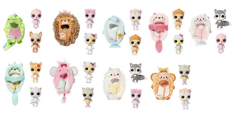 ZAPF - BABY born Surprise Zvieratká 3, Sidekick, 18 druhov