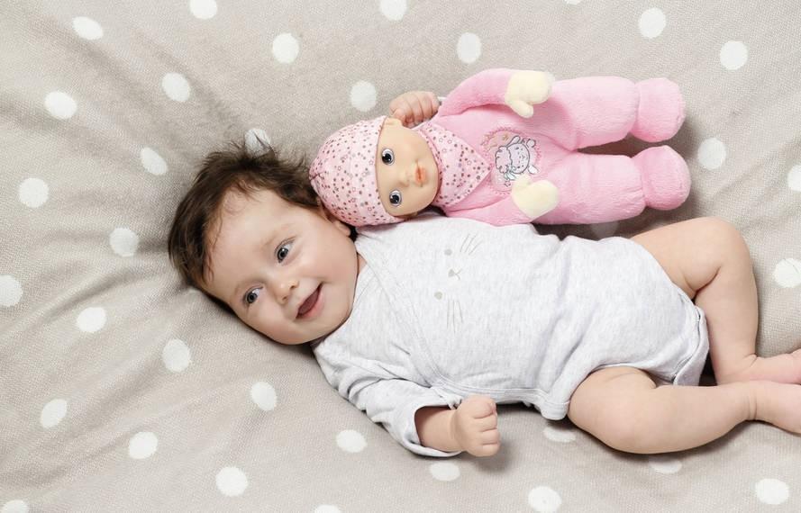 ZAPF CREATION - Bábika Baby Annabell for babies s tlkotom srdca 30cm 702543