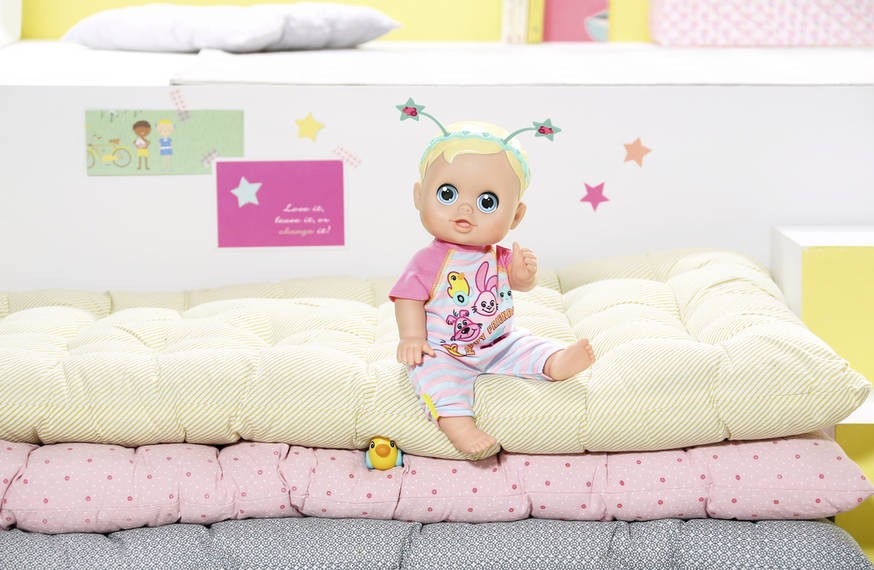 ZAPF CREATION - Bábika Baby Born Funny faces bouncing baby 826164