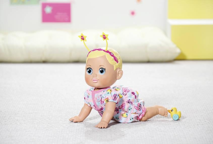 ZAPF CREATION - Bábika Baby Born Funny faces crawling baby 825884
