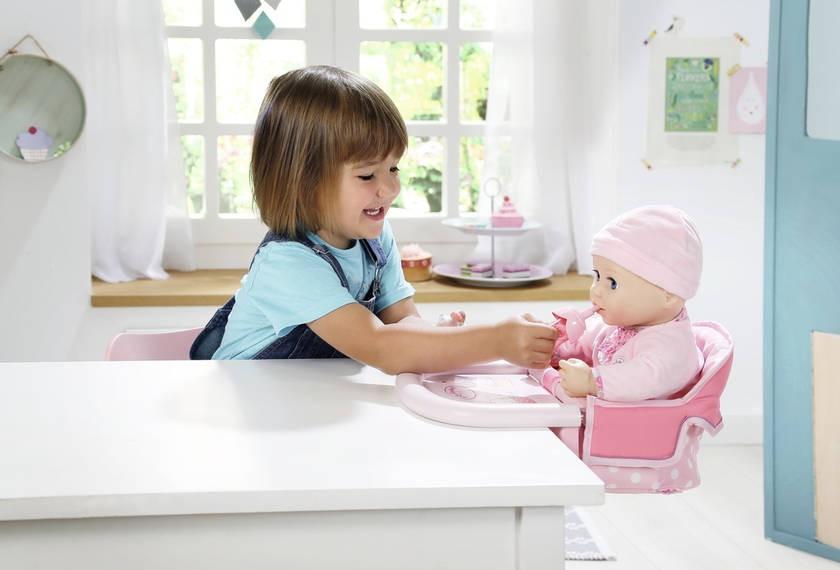 ZAPF CREATION - Baby Annabell Jedálenská stolička s uchytením na stôl 701126