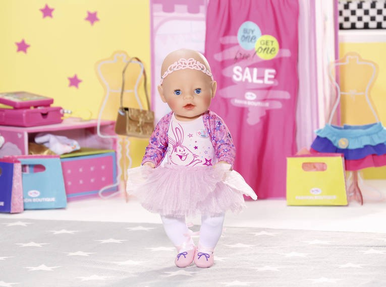 ZAPF CREATION - BABY Born Butik Deluxe Súprava Balerína 43cm 825013