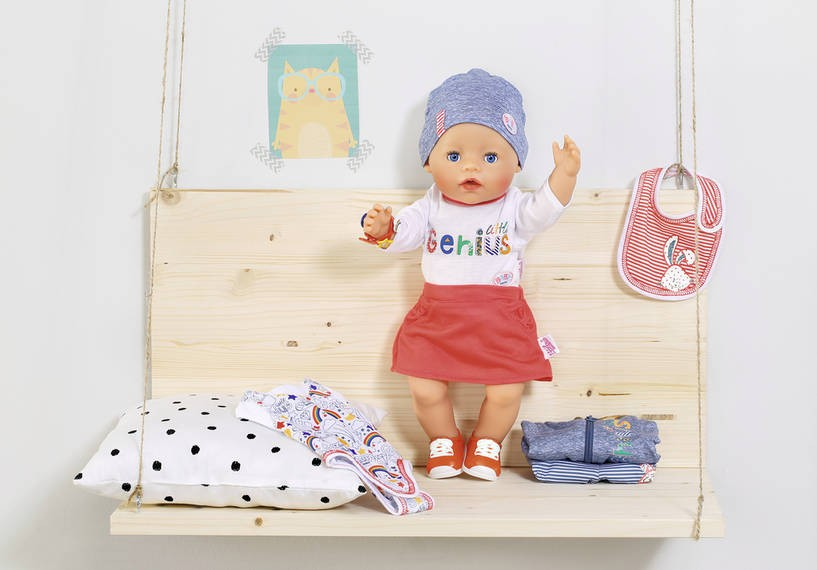 ZAPF CREATION - BABY Born Deluxe súprava oblečenia 43 cm 826928
