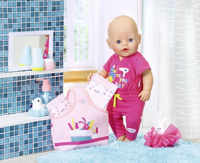 ZAPF CREATION - Baby Born Doplnky do kúpeľne 823606