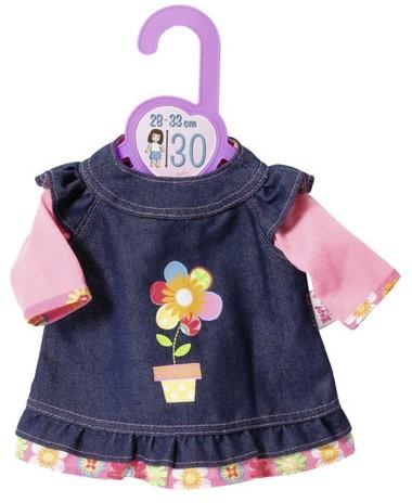 ZAPF CREATION - Baby Born Džínsové šaty 30 cm