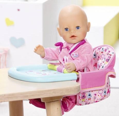 ZAPF CREATION - BABY Born Jedálenská stolička s uchytením na stôl 825235