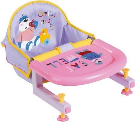 ZAPF CREATION - Baby born Jedálenská stolička s uchytením na stôl