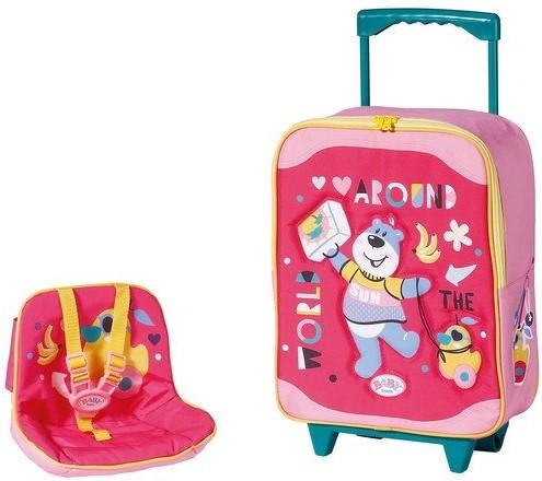ZAPF CREATION - Baby born Kufrík so sedačkou pre bábiky