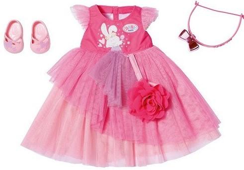 ZAPF CREATION - Baby born Plesové šaty Deluxe, 43 cm 43 cm