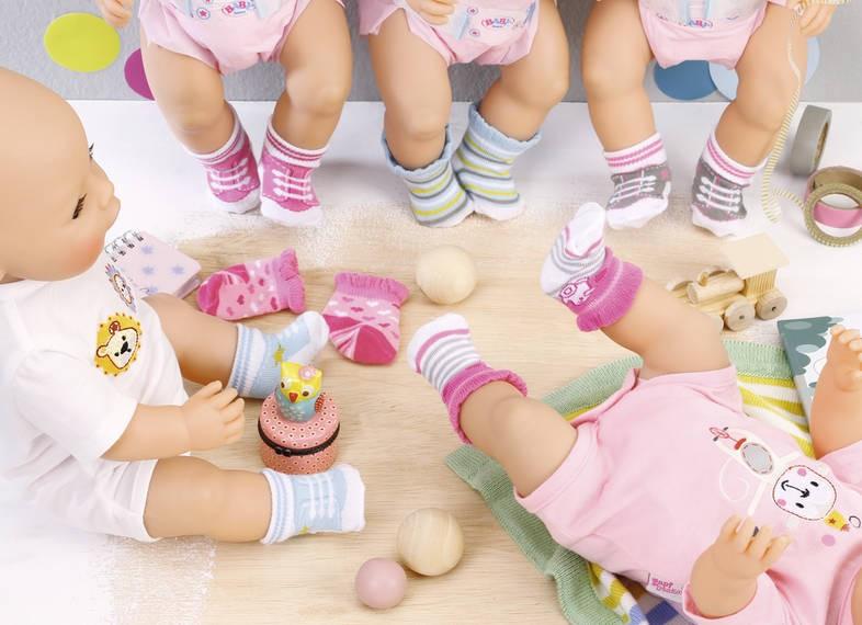 ZAPF CREATION - BABY Born Ponožky (2 kusy) 823576